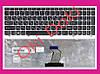 Клавіатура Lenovo IdeaPad G570 G575 G770 G780 Z560 Z565 чорна з сірою рамкою Оригінал