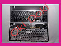Клавиатура Samsung NP355V5C 355V5C NP350V5C 350V5C BA75-04093C серая рамка