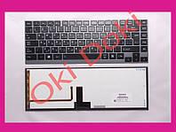 Клавиатура TOSHIBA R700 U800 U835 U840 U845 U900 U920 Z380 R830 U920T U800W Z935 U940 U925 rus black подсветка
