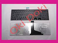Клавиатура Toshiba Satellite C55 C55-A C55dt C50 black энтер горизонтальный type 4