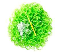 Резинки для волос силиконовые с фосфором 25 шт