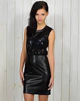 Женское вечерние платье, модное платье с паетками