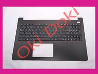Клавиатура Asus X502 series Keyboard+touchpad+передняя панель rus black