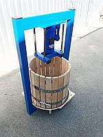 Пресс для сока 15л с домкратом, давление 3 тонны, гидравлический. Для яблок, винограда, сыра и тд.