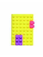 Блокнот mark's Silicon A6 Неон-Жовтий (4516278921498)