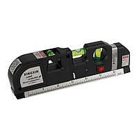 Строительный лазерный уровень с рулеткой Xingxin Laser Levelpro 4