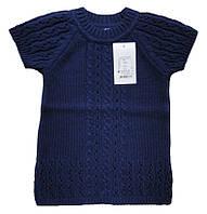 Туника-жилет синего цвета, рост 98 см, фото 1