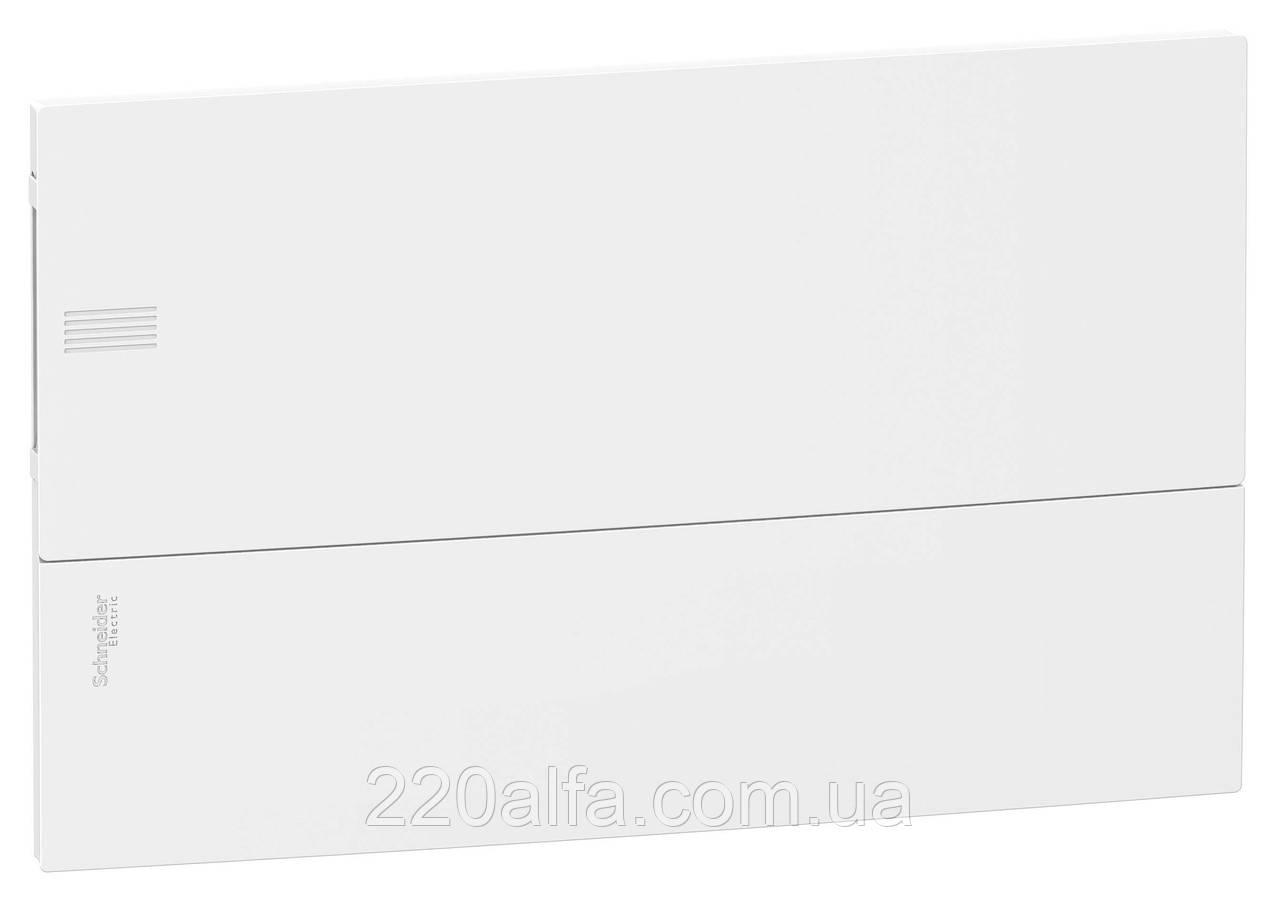Внутренний щиток на 18 автоматов MINI PRAGMA SCHNEIDER ELECTRIC ( белая дверь)
