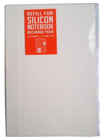 Сменный блокнот Mark's Silicon с чистыми листами A6 200 стр.