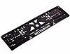 Рамка номерного знака, пластик Mitsubushi с хромированной рельефной надписью