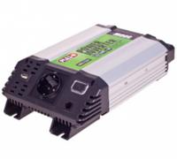 Преобразователь напряжения 12V-220V, 500 Вт, USB-5VDC2.0A, мод.волна, клеммы Pulso IMU 520