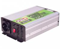 Преобразователь напряжения 12V-220V, 600 Вт, USB-5VDC2.0A, син.волна, клеммы Pulso SU-620