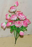 108 Букет роз с висюлькой 10 голов, фото 1