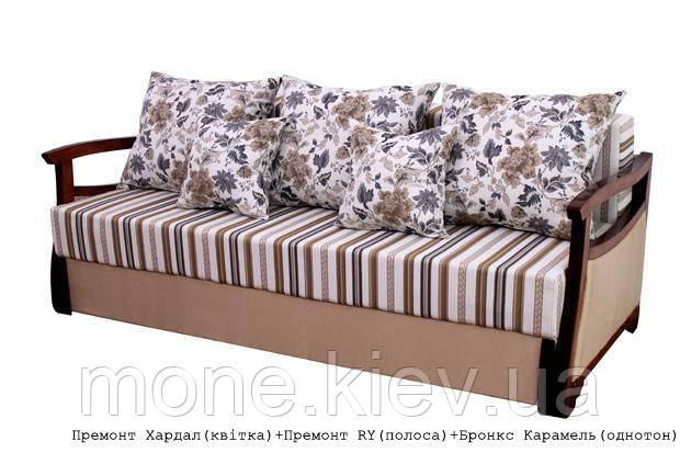 """Диван кровать """"Дали"""" с подушками"""