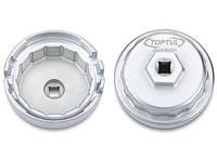 "Съемник масляного фильтра ""чашка"" D-64,5 мм, 14 граней 4-, 6-, and 8-Cylinder TOYOTA Engines Toptul JDDH6501"