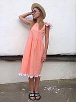 Платье женское.Ткань котон стрейч.Размер с м л.AK 1015