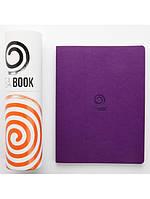 М'який Блокнот Victoria's Journal TEA BOOK A5 Пурпурний (4895198644305)