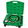 Toptul JGAI1204. 12 пр. Манометр для измерения давления масла, измеритель, набор, тестер, прибор, в двигателе