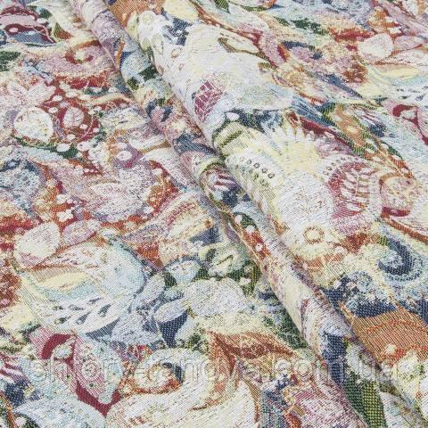 Декоративная ткань для штор с принтом, фокус