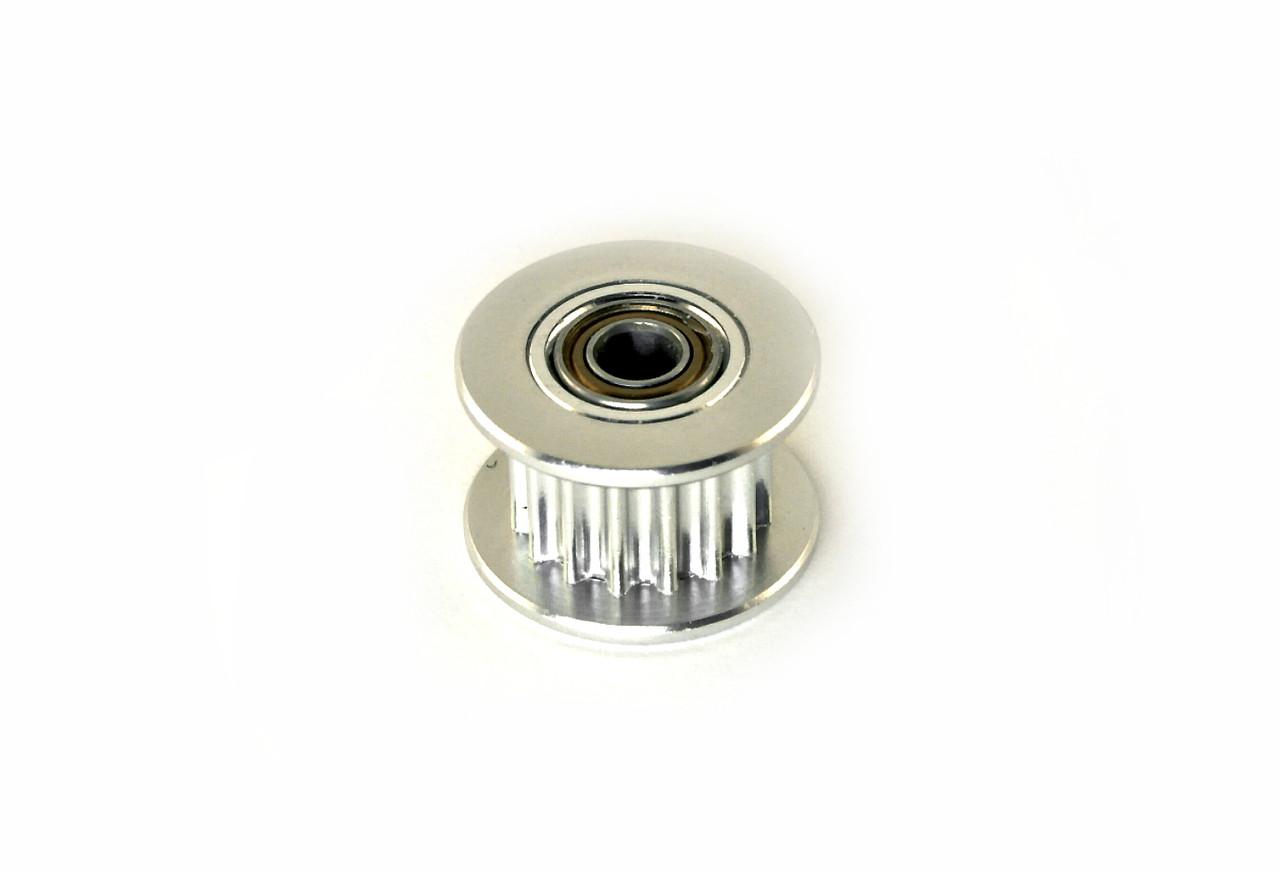 Шкив на 16 зубов под ремень GT2 - 6 мм, подшипник 623ZZ
