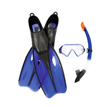 Набор для плавания BW (25021 маска, трубка, ласты, 2 вида, фото 1