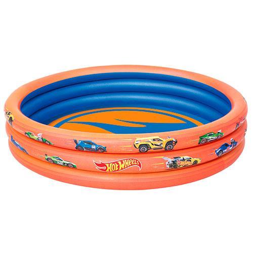 Bestway 93403 Надувной бассейн Hot Weels (122х25 см)