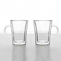 Комплект кофейных чашек с двойным дном Herisson 330 мл