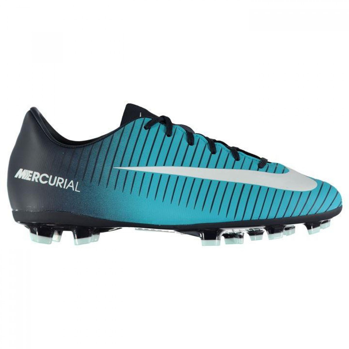 Купить фирменные Бутсы Nike Mercurial Victory Junior FG Navy White ... c0adcbac2d8b4