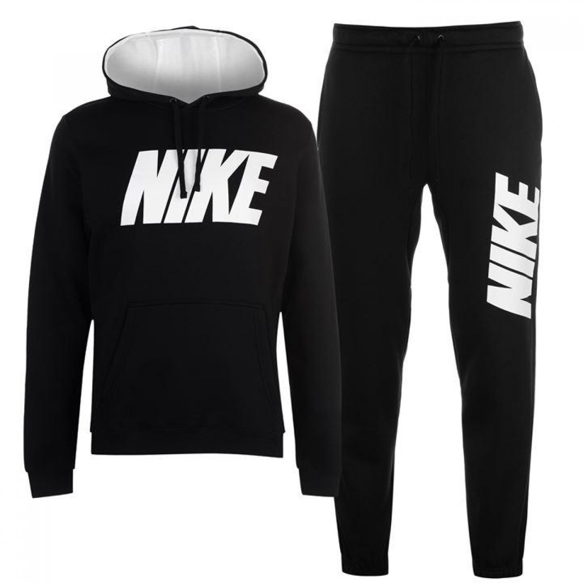 Спортивный костюм Nike JDI Fleece Black White - Оригинал - FAIR -  оригинальная одежда и 4b97a4aead4