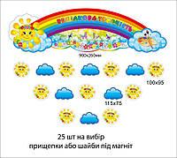 Комплект для детских работ Радужное творчество Солнышко