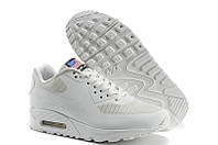 Мужские кроссовки Nike Air Max 90 Hyperfuse USA белые, фото 1