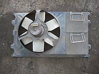Мотор электродвигатель вентилятор радиатора + диффузор Фольксваген Пассат Volkswagen Passat B3