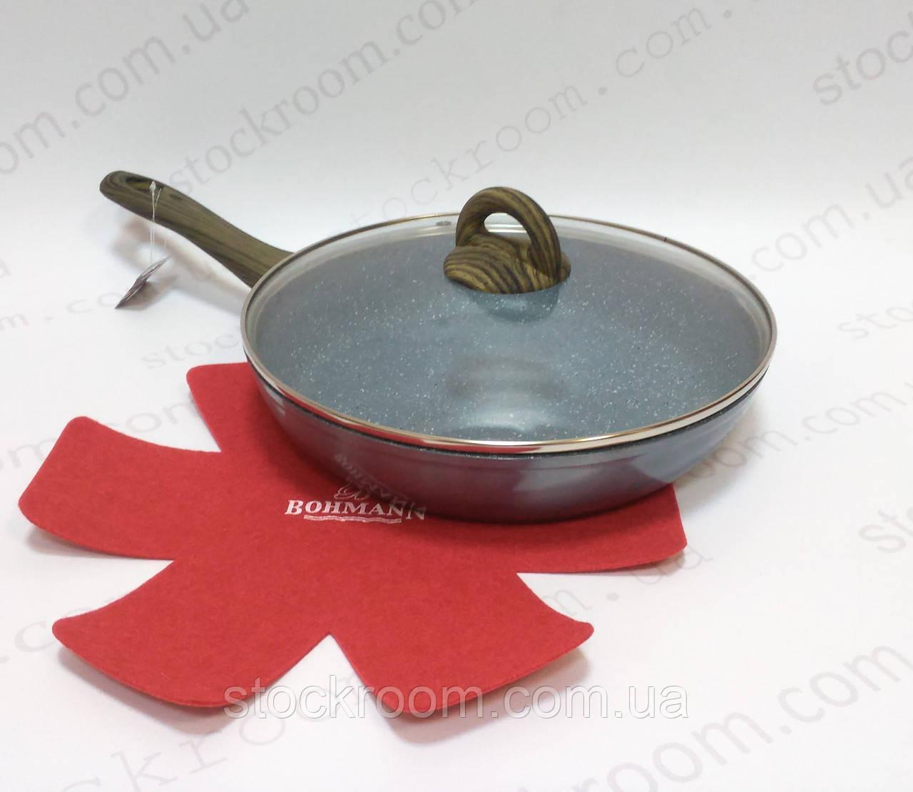 Сковорода Bohmann BH 1006-28 с мраморным покрытием