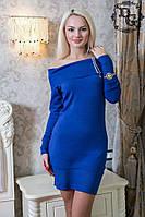 Теплое  платье дг в37, фото 1