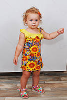 Детский сарафан на рост 80-122 см (от 1 до 6 лет)