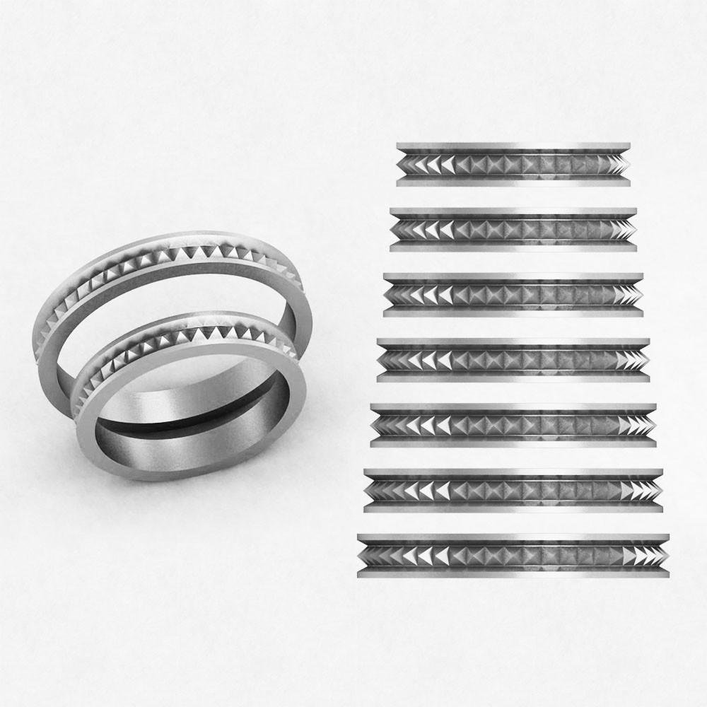 Кольца парные,обручальные Блеск КВ-779
