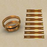 Кольца парные,обручальные Блеск КВ-779, фото 2
