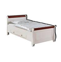 Кровать Мальта-100 с ящиками (без ламелей) Империя дерева