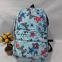 Рюкзак женский мододежній цветной джинс спина плотная для школьников