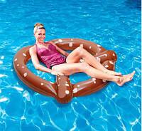 Крендель Понтонный совет Плавающий кровать плавательный бассейн Игрушка надувной надувной матрас 150 см