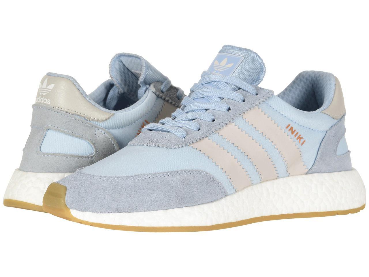 Кроссовки/Кеды (Оригинал) adidas Iniki Runner Light Blue/Grey/Gum