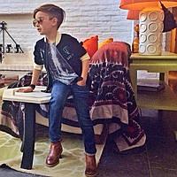 """Джинсы, брюки на мальчиков """"A-yugi jeans"""" весна-лето-осень"""