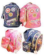 Рюкзак школьный GB1769P, ДЖИНС - 18&quot + пенал, 44х27х13 см. (24, 1, 24)