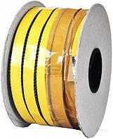 Шнур керамический огнеупорный самоклеющийся 20ммx3,5мм