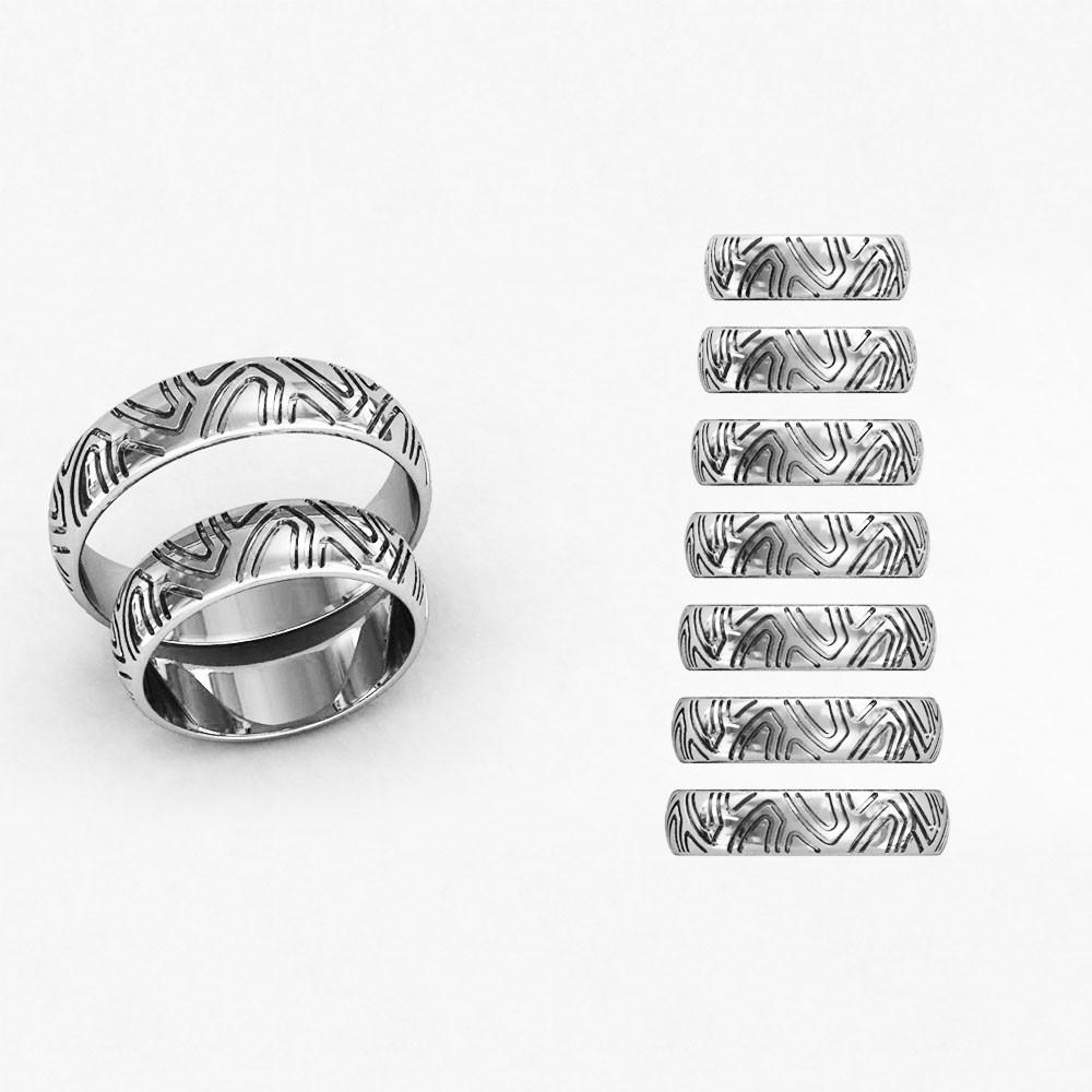 Кольца парные,обручальные Линии судьбы КВ-781
