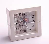 """Часы-будильник """"Тедди"""", 10 см, в ассортименте"""
