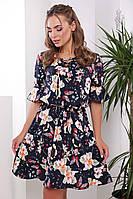Легкое летнее платье Иришка-1 42-50 размеры