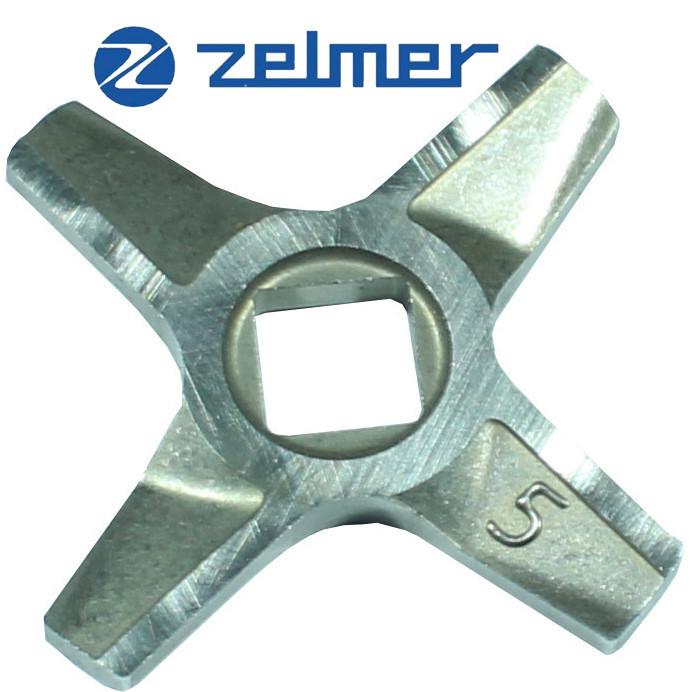Нож для мясорубки Zelmer NR5 (ОРИГИНАЛ) Двухсторонний 86.1009 631384 (ZMMA025X)