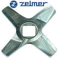 Нож для мясорубки Zelmer NR8 (ОРИГИНАЛ) Двухсторонний (ZMMA128X)