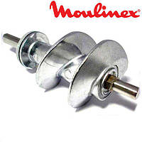 Шнек для мясорубки Moulinex XF911101 (SS-989843) (с уплотнительным кольцом) L=114, фото 1
